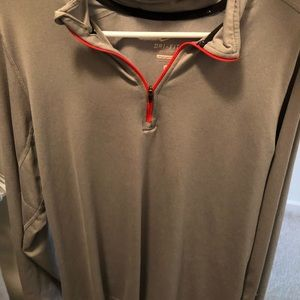 Other - men's nike pull over in grey / coral size M